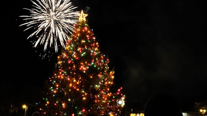 Augusta's tree lighting this year at Augusta Common will be broadcast on television and online.