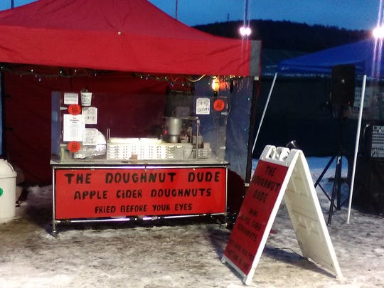 The Doughnut Dude is operated by Bo Muller-Moore of