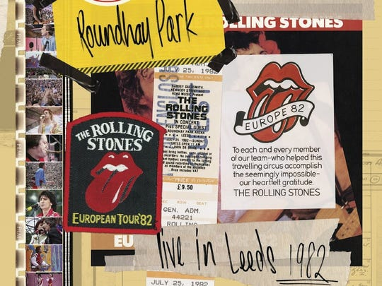 """Live in Leeds 1982"" from the Rolling Stones' ""From the Vault"" series."