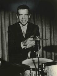 Jazz drummer Buddy Rich, a frequent visitor to Milwaukee,