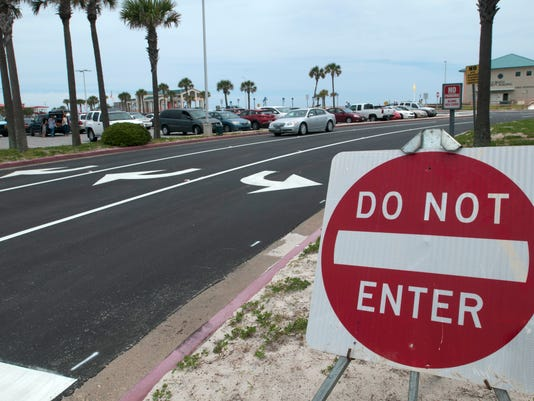 New Parking Lot Pattern-Casino Beach