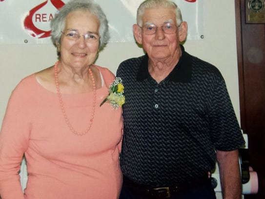 Carolyn and Mickey Donnelly were married for 58 years.