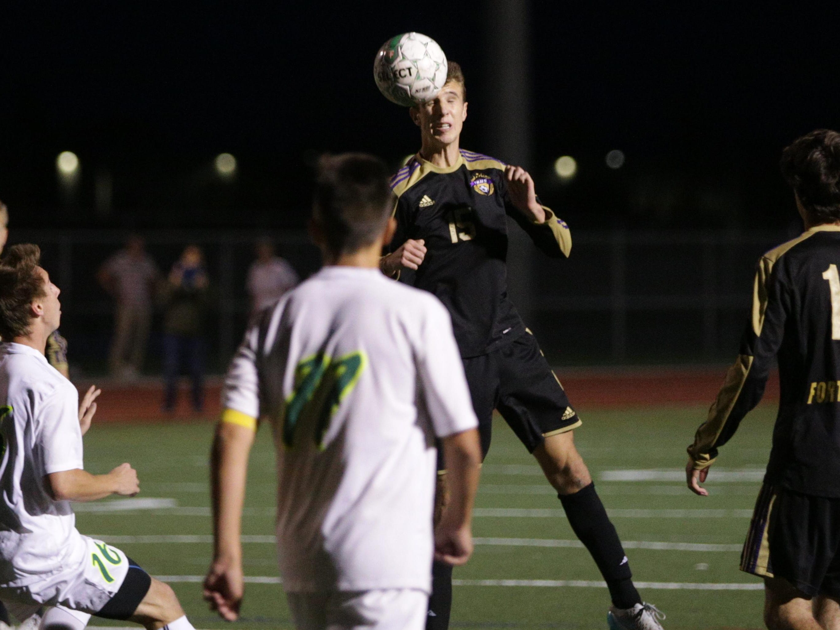 Fort Collins High School's Jake Rudel is fourth among area players in goals and second in assists.