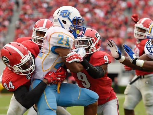 NCAA Football: Southern at Georgia
