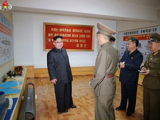 AP NORTH KOREA MISSILES I PRK