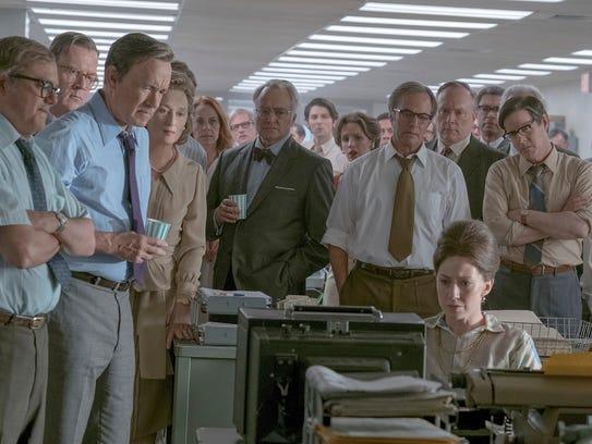 """The Post"" stars Meryl Streep and Tom Hanks, and tells"