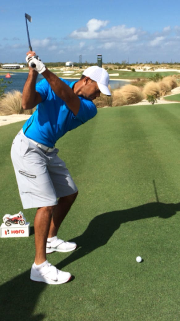 fans are excited about this video of tiger u0026 39 s swing