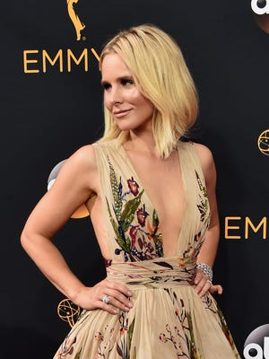 Actress Kristen Bell attends the 68th Annual Primetime Emmy Awards at Microsoft Theater on September 18, 2016 in Los Angeles, California.