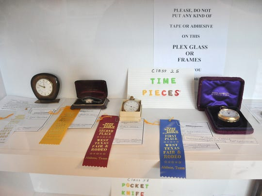 Winning entries at the West Texas Fair & Rodeo on Wednesday, Sept. 13, 2017.