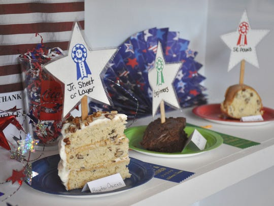 Winning entries at the West Texas Fair & Rodeo on Wednesday,