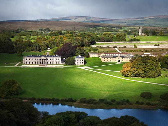 For a taste of elegance in the Irish countryside, the recently restored Ballyfin is a magnificent country house hotel set upon a 600-acre estate in the Slieve Bloom Mountains of central Ireland.