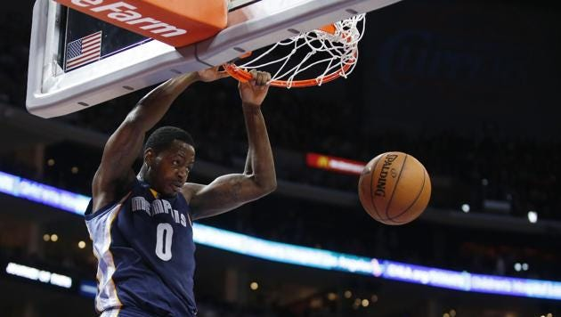 Montgomery native JaMychal Green is playing in his first NBA season.