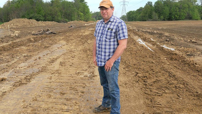 Paul Wallace, a farmer in Stark County's Washington Township, was one of that county's landowners who sued NEXUS Gas Transmission for damaging their farmland during pipeline construction. Wallace's attorney recently dismissed the lawsuit but plans to refile in the future.