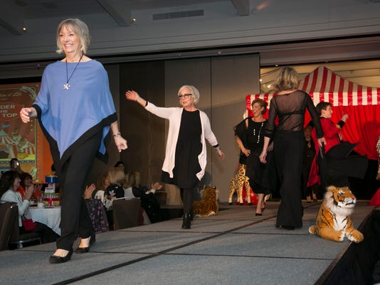 Cancer Survivors Walk Runway