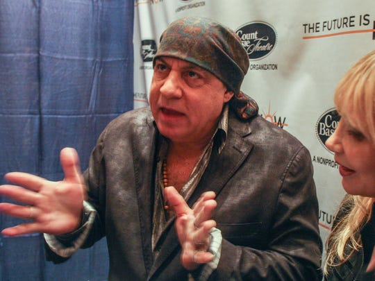 Steven Van Zandt will receive an honorary doctorate of fine arts degree at Rutgers University