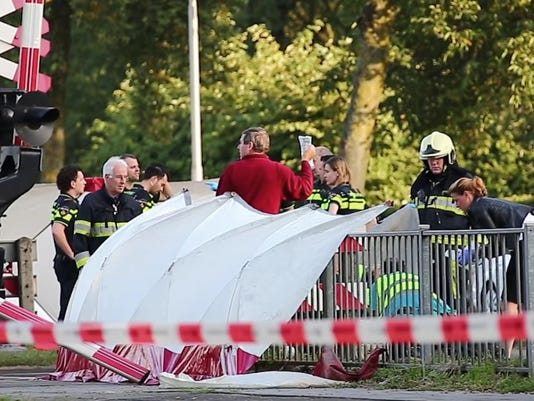 Netherlands Train Collision