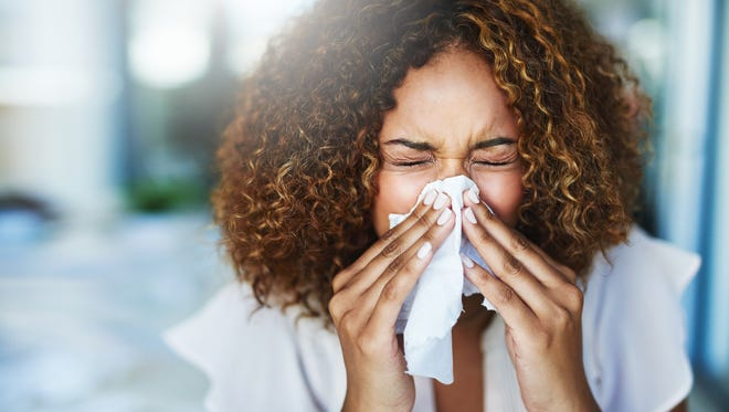 Runny nose, fever and cough are all symptoms of the flu.