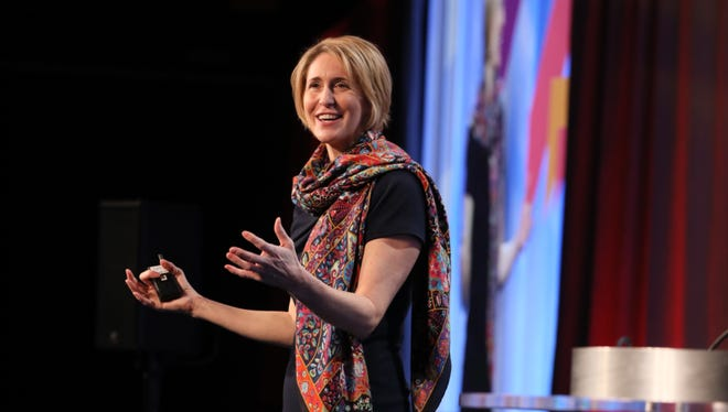 Valerie Keller, Executive Director, Global Markets at EY; Founder and Global Leader, EY Beacon Institute shares insights on corporate purpose at the 2017 Corporate Citizenship Conference