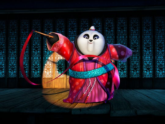 Mei Mei, voiced by Rebel Wilson, makes a powerful appearance