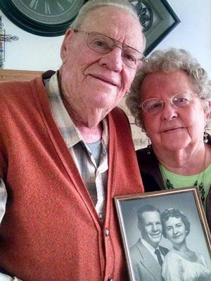 Johnnie and Lucy Franchini recently celebrated 60 years of marriage.