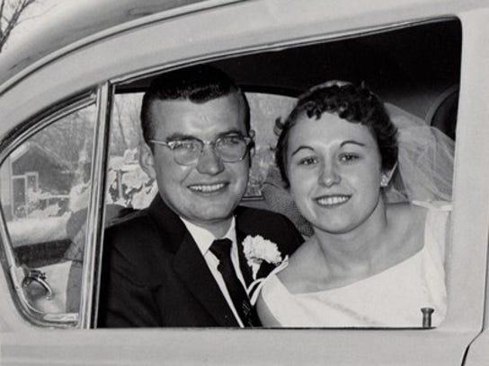 Del Mahoney & Bev Mahoney, 1957