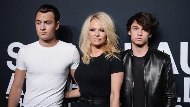 "Brandon Lee, the elder son of Pamela Anderson and Tommy Lee, told TMZ, ""I love my dad."""