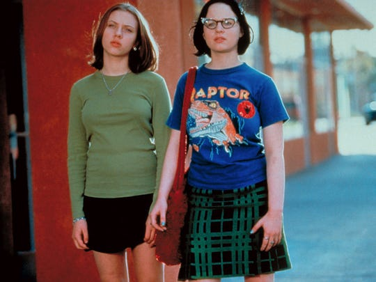 "A scene from the indie classic ""Ghost World."""