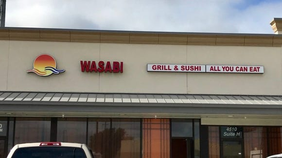 Wasabi Grill & Sushi is expected to open soon near the intersection of Kaliste Saloom Road and Ambassador Caffery Parkway.
