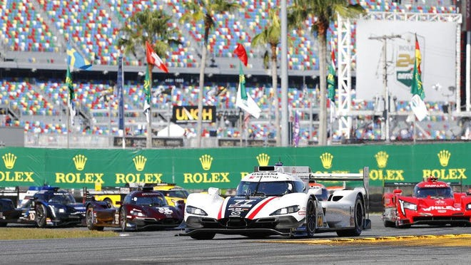The IMSA WeatherTech SportsCar Championship, featuring Daytona Prototypes and a variety of GT-style race cars, will return to Daytona International Speedway next month and will allow a limited number of spectators.