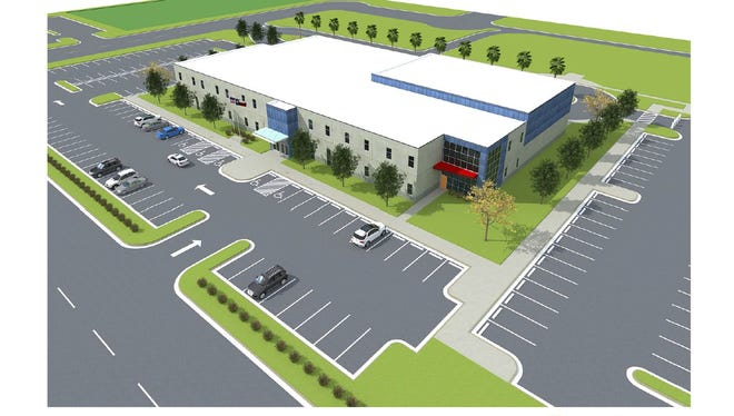 The School of Science and Technology in Corpus Christi will open a new campus at Evans Road and SaratogaBlvd.About 400 middleand high school age students from the current campus at the corner of Saratoga Blvd. and Everhart Roadwill transfer to the new 45,000 square-foot facility by next summer.
