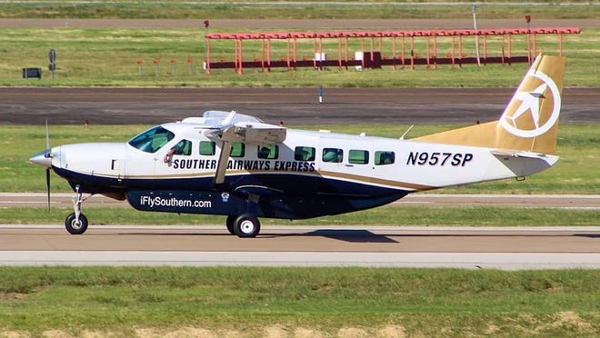 Southern Airways announced that it will expand daily flights on a year-round schedule, and base its New England fleet at the New Bedford Regional Airport. {Submitted]