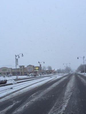 Southern Utah residents woke up Monday, Feb. 23, 2015, to a fresh blanket of snow.