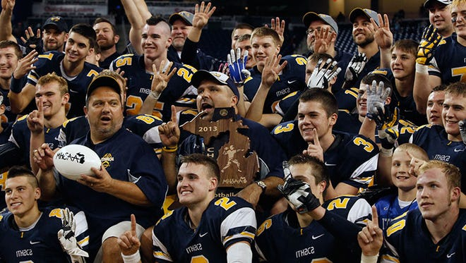 Ithaca is trying to take this picture at Ford Field for a fifth consecutive year.