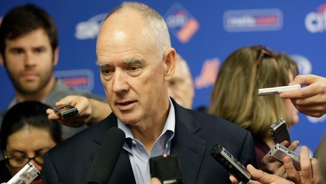 Mets general manager Sandy Alderson.