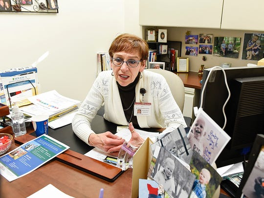 Jeanette Stack, administrator of the St. Cloud Surgical