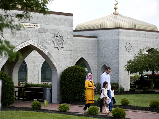 June 17, 2016: Muslims, West Chester, Prayer service, Ramadan, Liz Dufour