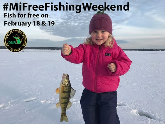 Annual free fishing weekend is here for Michigan out of state fishing license