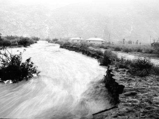Baristo Road (Lime Street) 1927 flood.
