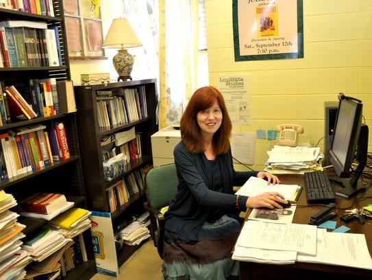 Louisiana poet Julie Kane
