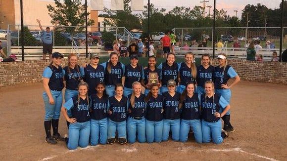 Enka won the 3-A Western Regional championship on Friday night in Statesville.