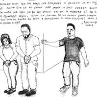 In handwritten letters, detained immigrant fathers describe family separation