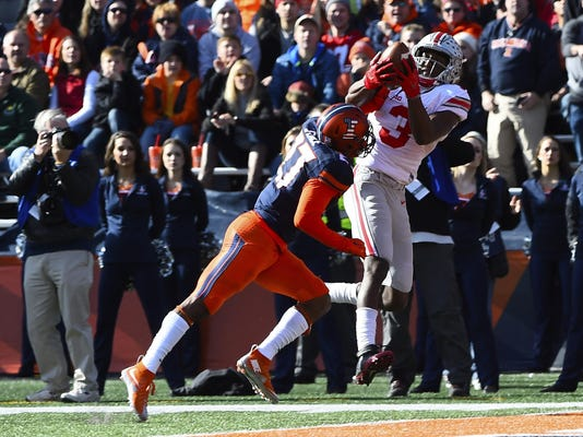 NCAA Football: Ohio State at Illinois