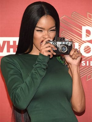 """Teyana Taylor attends VH1 Divas Holiday: """"Unsilent Night"""" at Kings Theatre on Friday, Dec. 2, 2016, in New York."""