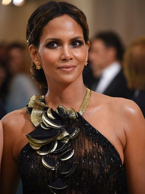 Halle Berry attends The Metropolitan Museum of Art's Costume Institute benefit gala celebrating the opening of the Rei Kawakubo/Comme des Garçons: Art of the In-Between exhibition on Monday, May 1, 2017, in New York.