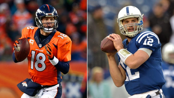 Tale of the Tape: Peyton Manning vs. Andrew Luck