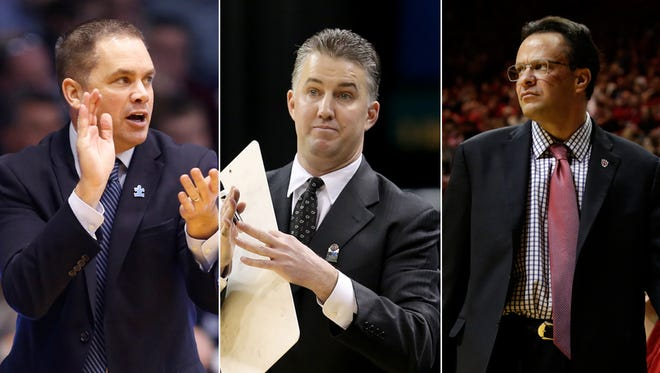 Chris Holtmann, Matt Painter and Tom Crean have their teams on the cusp of postseason play.