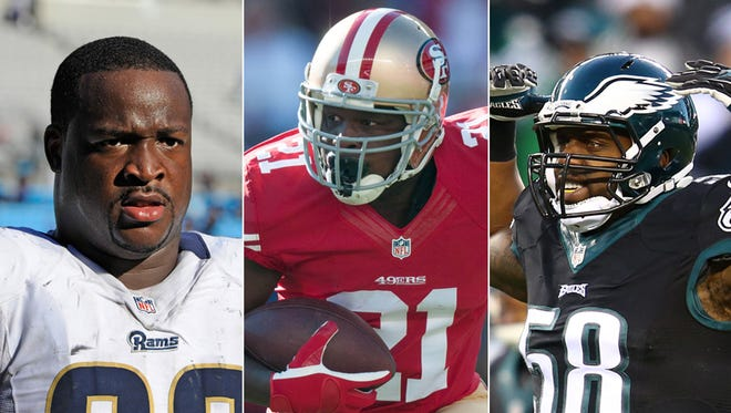 The Colts were busy adding veterans Kendall Langford, Frank Gore and Trent Cole to the fold Tuesday.