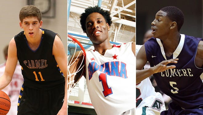 Ryan Cline, Caleb Swanigan and Jalen Coleman headline the ALL-USA Indiana All-State team.