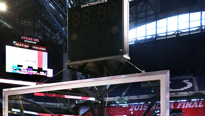 The NCAA will likely reduce the shot clock in men's basketball from 35 seconds to 30 seconds.