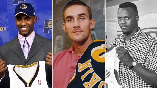Left to right: Shawne Williams, Scott Haskin and George McCloud.